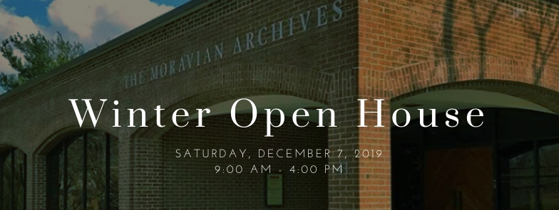 Open House Saturday, December 7th