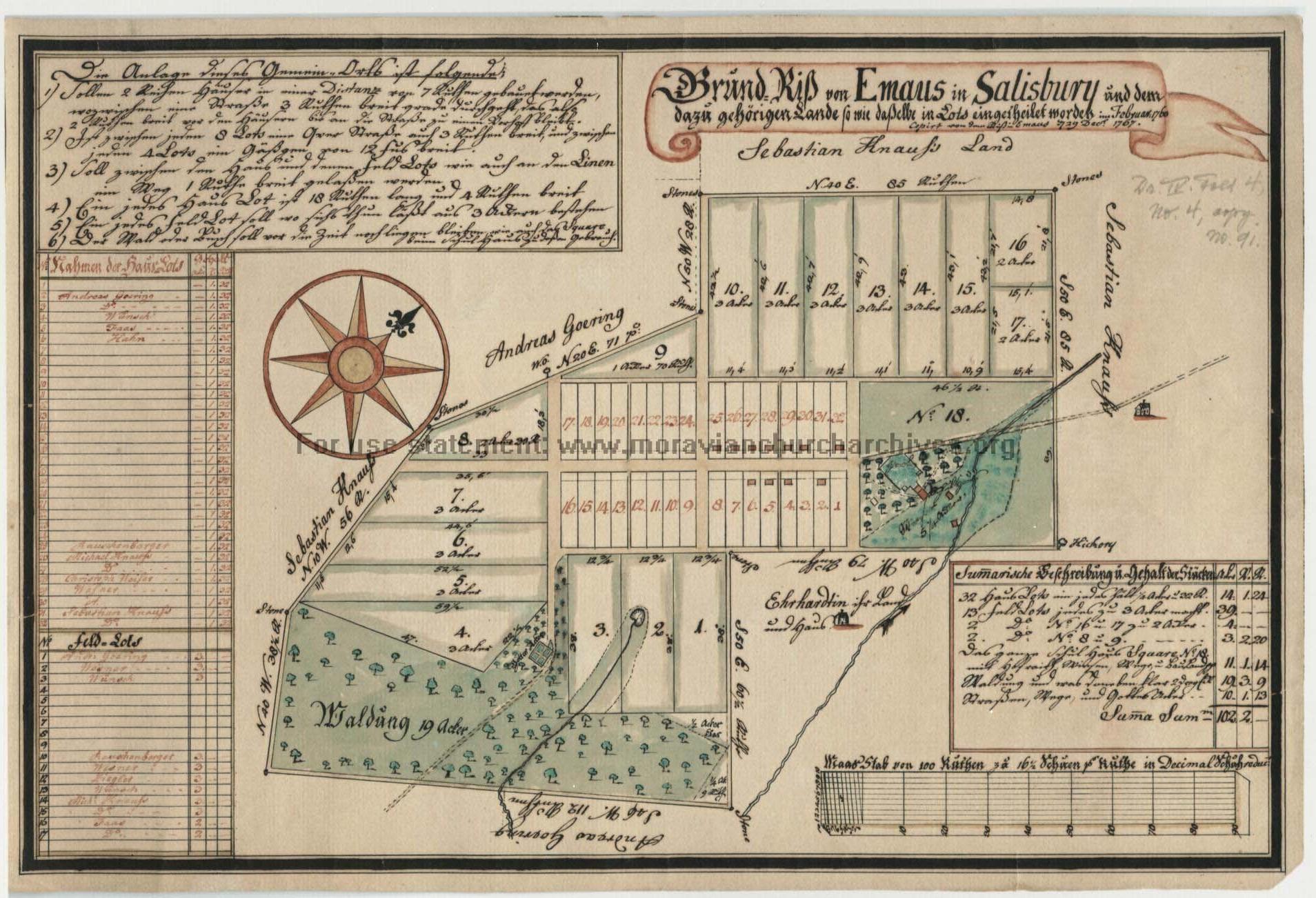 Digital Collection Spotlight #21: Map of Emmaus