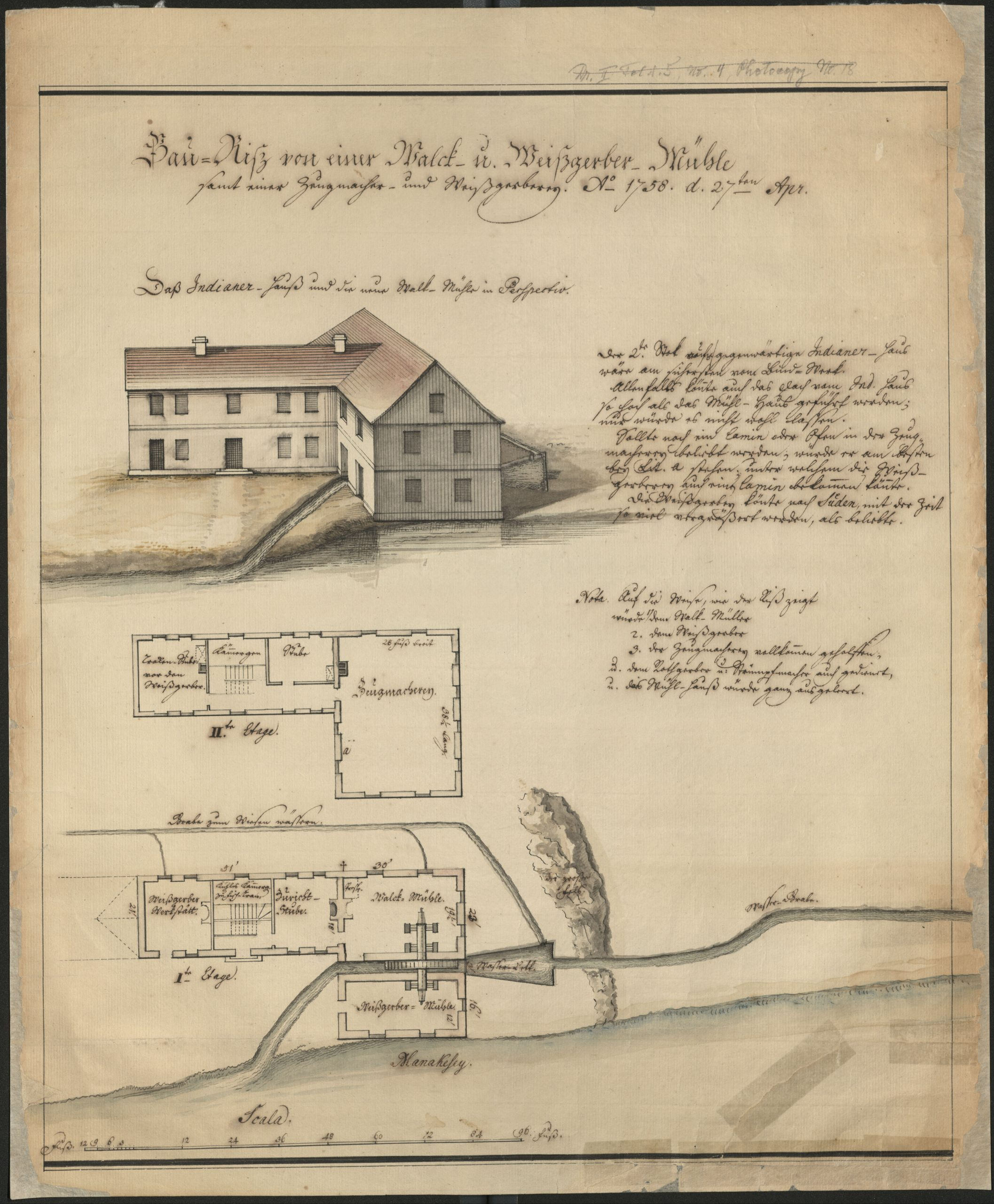 Digital Collection Spotlight #23: Proposed Mill